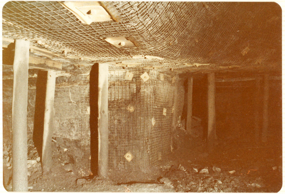 John Darling Colliery, Belmont, Lake Macquarie, NSW. No.4 seam, entry to Victoria tunnel seam
