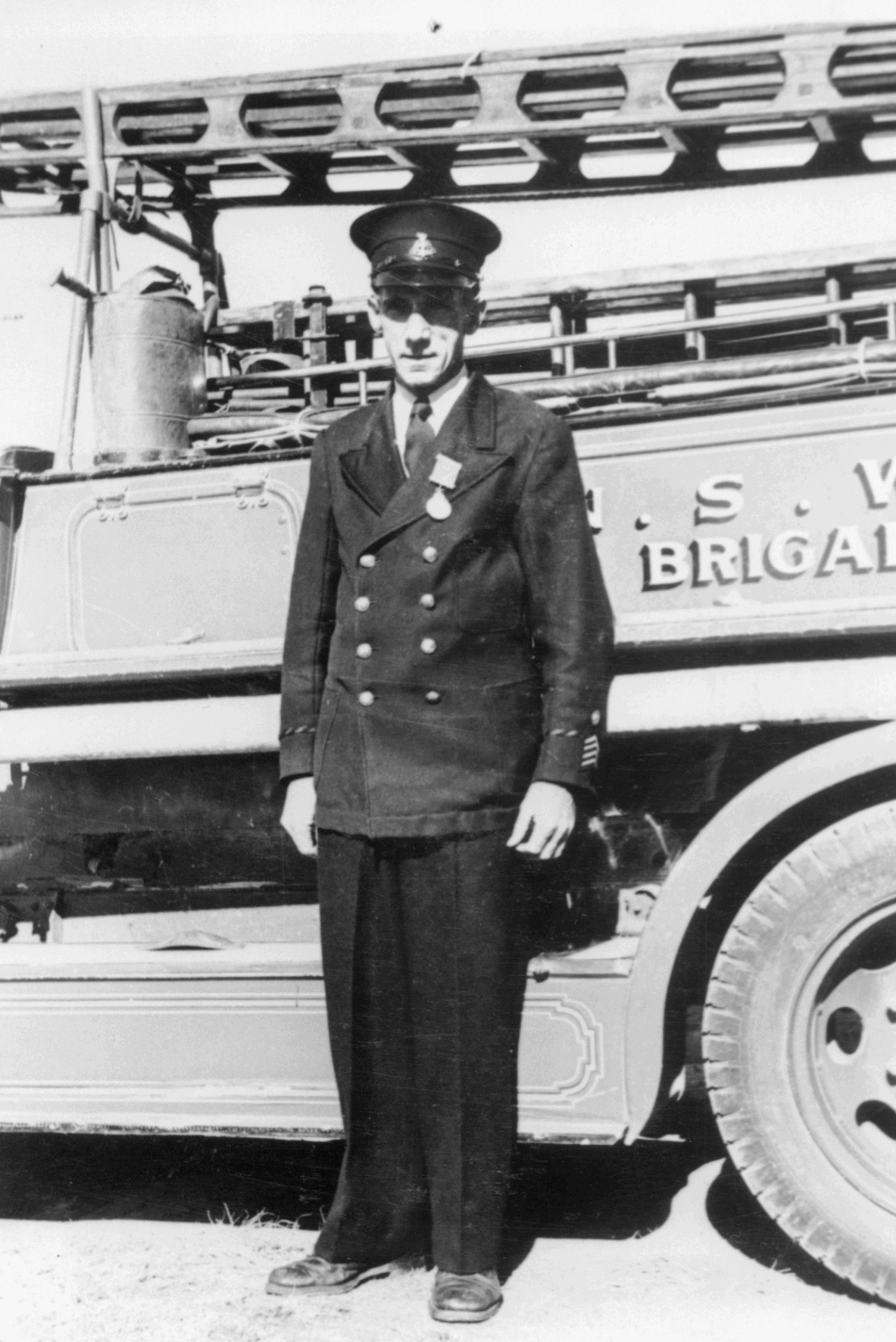 Fisher, L (Captain, Fire Brigade) c.1960's