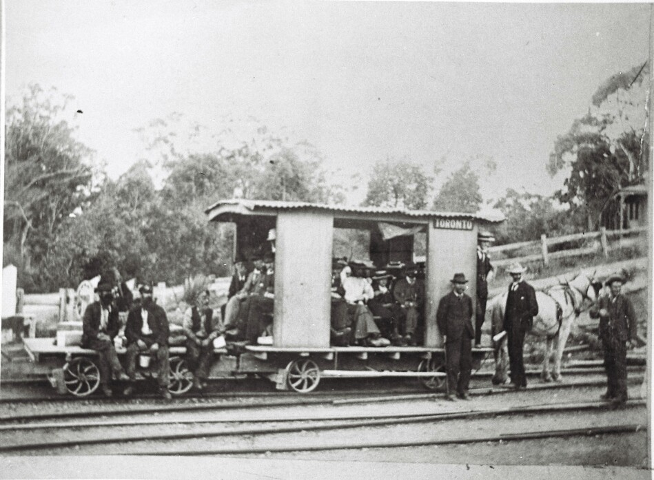 Horse-drawn train, Toronto