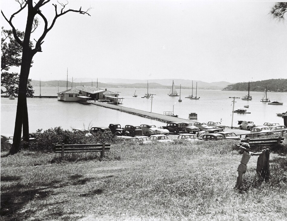 Lake Macquarie Yacht Club, Ada Street, Belmont NSW. Possibly 1940s