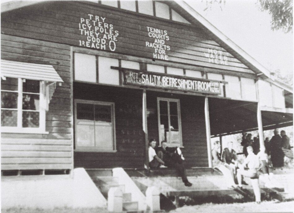 Salty Creek Refreshment Room 1931