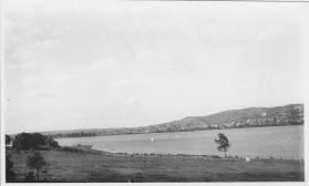 photo: marmong point, looking towards speers point c.1930