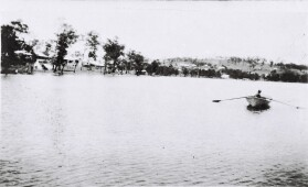 photo: rowing on the lake